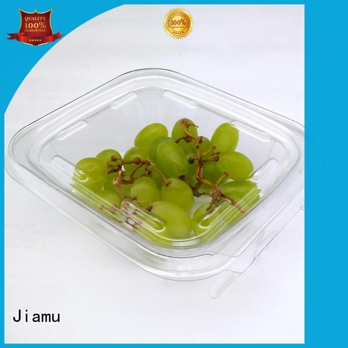 tamper pvc blister pack food for canteen Jiamu