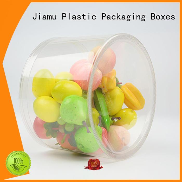 Wholesale customized plastic tube packaging Jiamu Brand