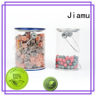 Jiamu Brand blister useful curling clear plastic tube packaging
