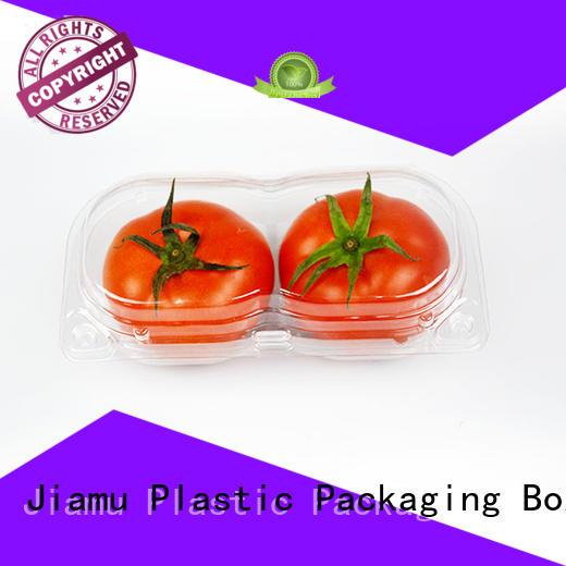 Wholesale plastic food blister Jiamu Brand
