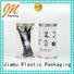 Jiamu Brand clear useful shaped clear plastic tube packaging