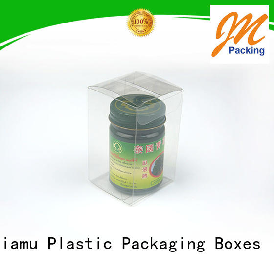 Jiamu Brand cream packaging pvc folding box toothpaste factory