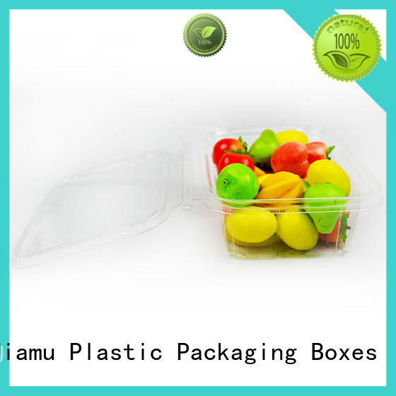 Jiamu hygienic biodegradable plastic food packaging on sale for restaurant