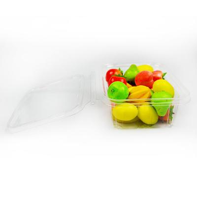 Transparent plastic fresh fruit salad blister packaging