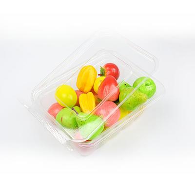 Food grade transparent biodegradable plastic food blister packaging for fresh fruit