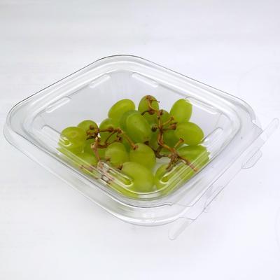 Clear PET plastic tamper resistant fruit blister packaging