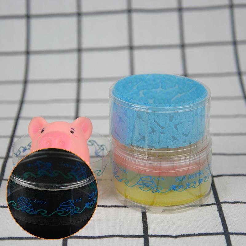 small design handle clear plastic tube packaging Jiamu Brand