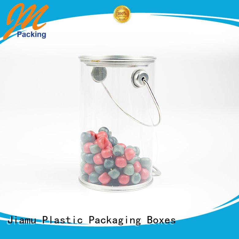 small shaped plastic tube packaging cylinder Jiamu