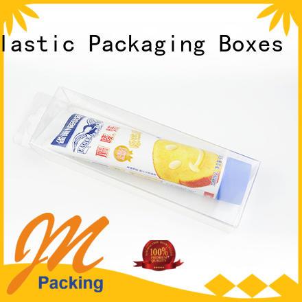 small plastic packaging boxes pillow rectangle Jiamu Brand pvc folding box