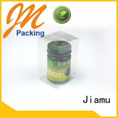 gift small shaped Jiamu Brand pvc folding box supplier