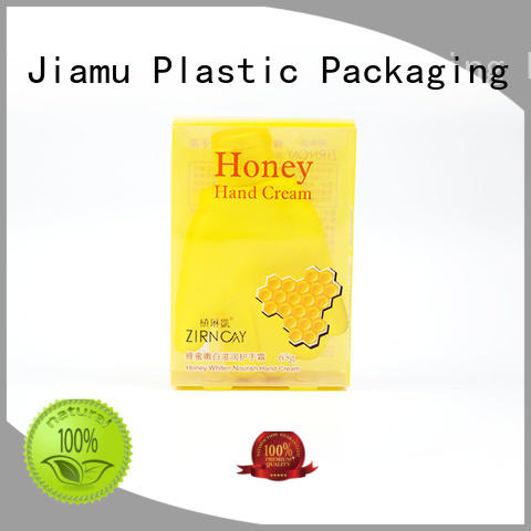 gift accept small plastic packaging boxes Jiamu manufacture