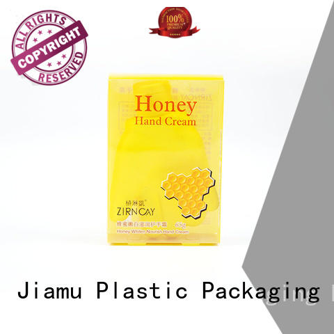 small plastic packaging boxes cream pvc folding box clear company