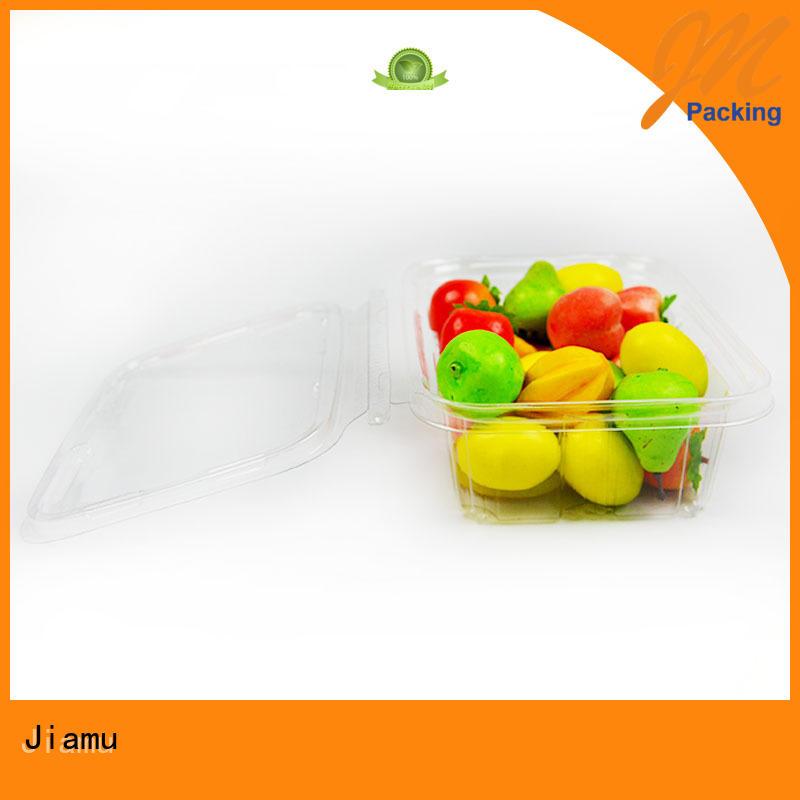 Custom apple customized food blister packaging Jiamu transparent