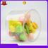 Jiamu Brand shaped mental small clear plastic tube packaging