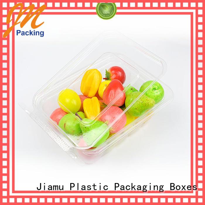 Jiamu Brand blister tomato custom food blister