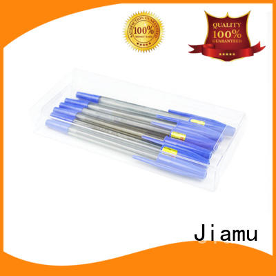 Jiamu stable plastic box packaging manufacturer for stationary