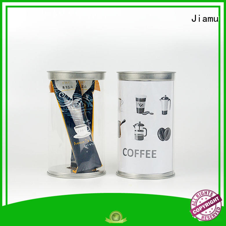 round blister Jiamu Brand clear plastic tube packaging factory