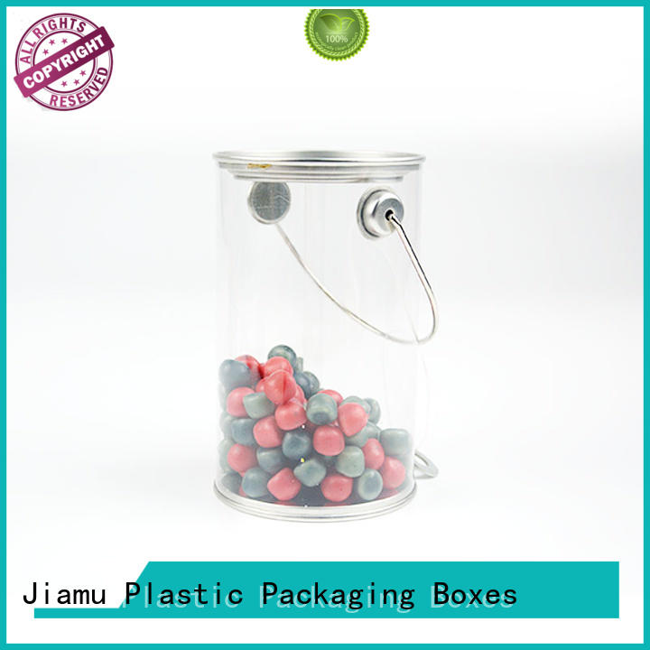 clear plastic tube packaging lid coffee various Jiamu Brand company