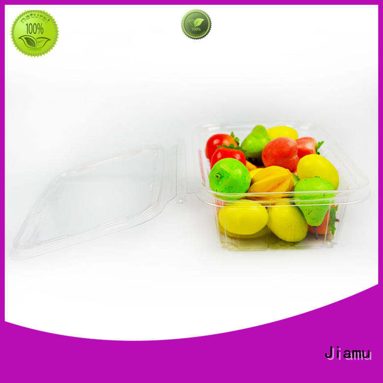 Jiamu round food blister packaging supplier for restaurant