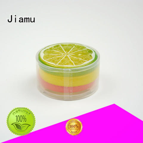cylinder handle plastic tube packaging transparent round Jiamu company