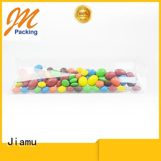 pillow transparent pvc folding box gift Jiamu Brand