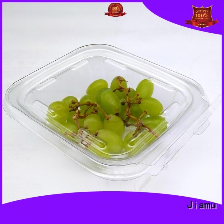 durable blister packaging food transparent from China for cafeteria