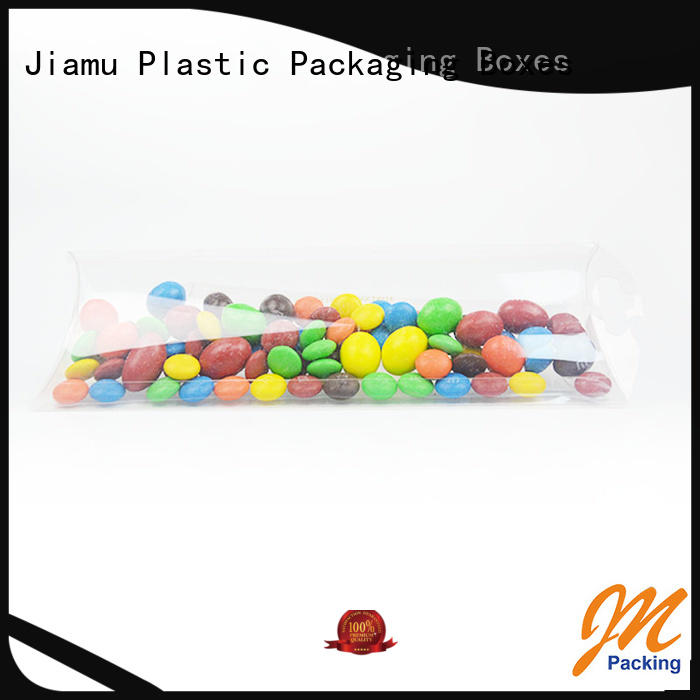 rectangle pillow goods small plastic packaging boxes Jiamu manufacture