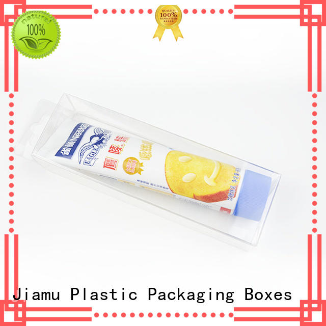 Jiamu convenient plastic box gift packaging for fruit packaging