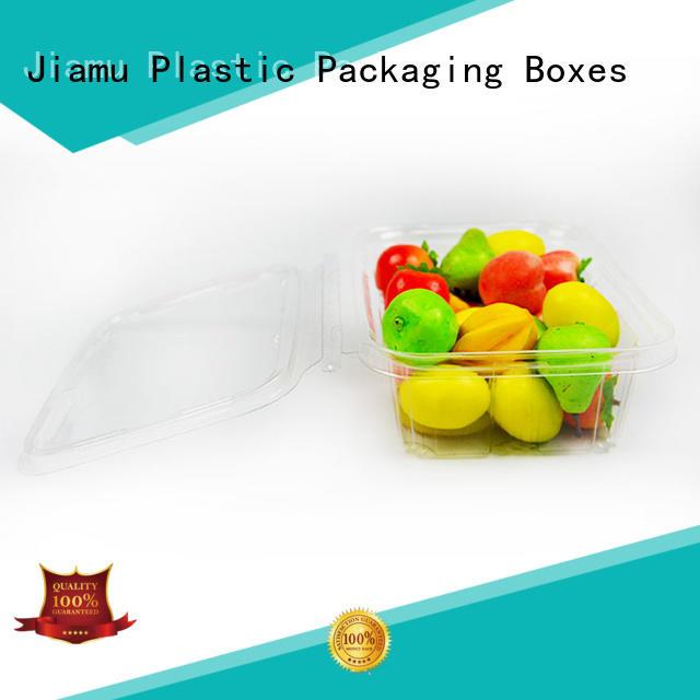plastic pear OEM food blister packaging Jiamu