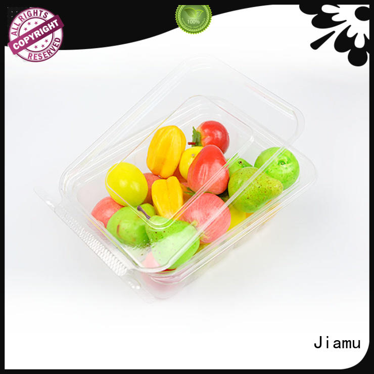 blister plastic salad food blister packaging clear Jiamu Brand