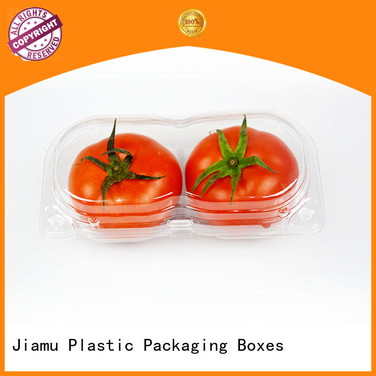 food safe clamshell blister packaging clear on sale for catering