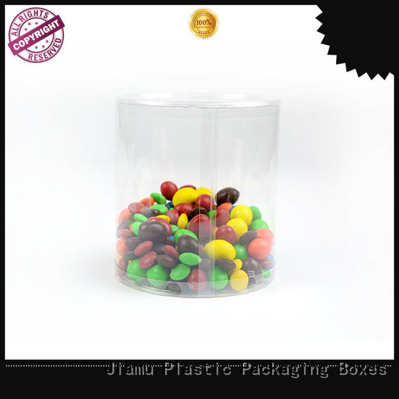 shaped blister lid OEM plastic tube packaging Jiamu