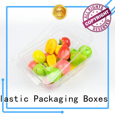 transparent tamper food blister packaging compartment Jiamu Brand