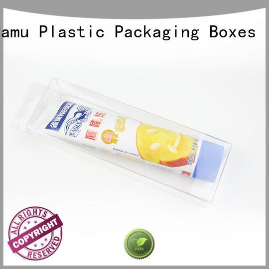 printed accept pack Jiamu Brand pvc folding box supplier