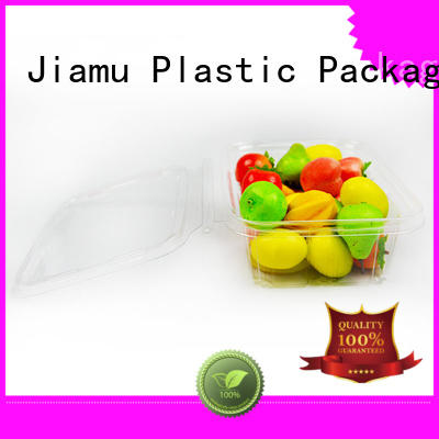 Jiamu pp clamshell blister packaging on sale for catering