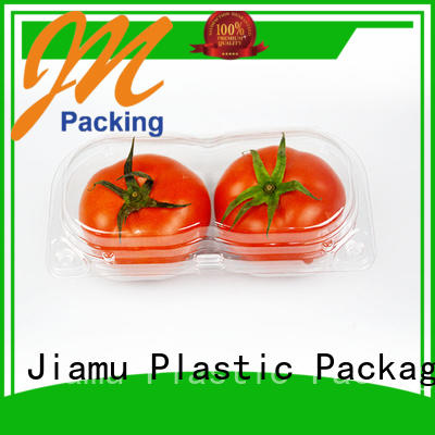 Jiamu Brand tamper customized fruit food blister packaging