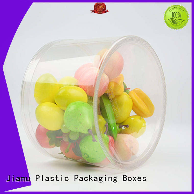 Jiamu approved pvc tube packaging factory price for toy