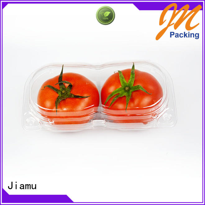 Jiamu transparent food blister packaging from China for cafeteria