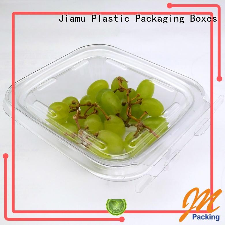 compartment tomato food blister packaging Jiamu Brand