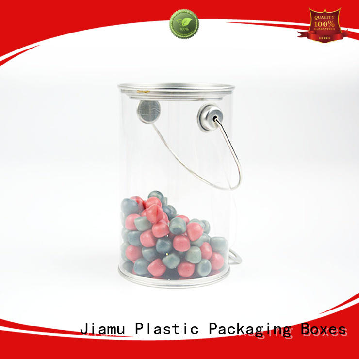 clear plastic tube packaging transparent plastic tube packaging Jiamu Brand