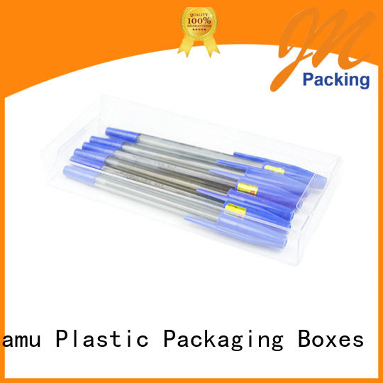 Jiamu gift clear plastic lock box directly price for hardware tools