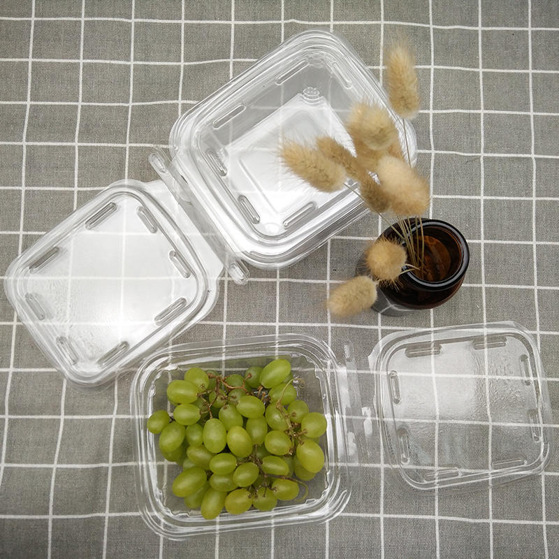 Clear PET plastic tamper resistant fruit blister packaging