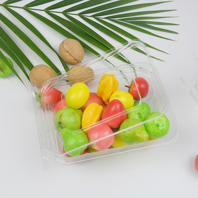 Food grade transparent biodegradable plastic food blister packaging for fresh fruit