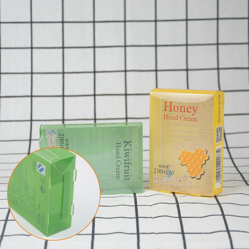 small plastic packaging boxes pack printed pvc folding box manufacture