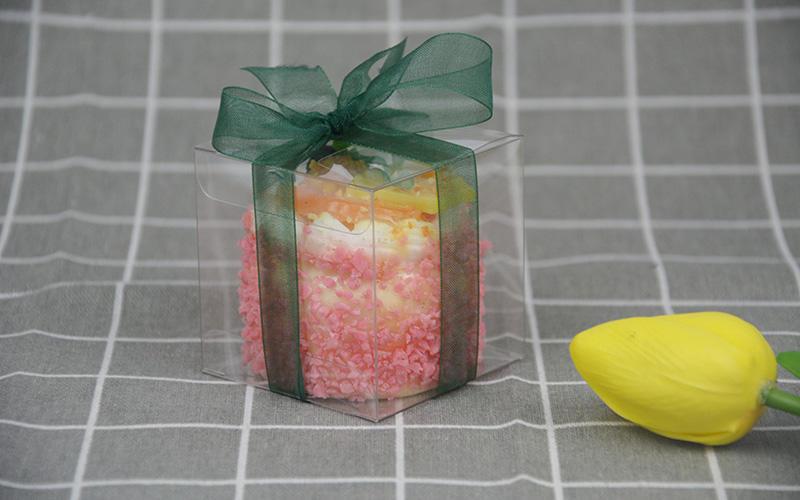 Wholesale packaging goods pvc folding box Jiamu Brand