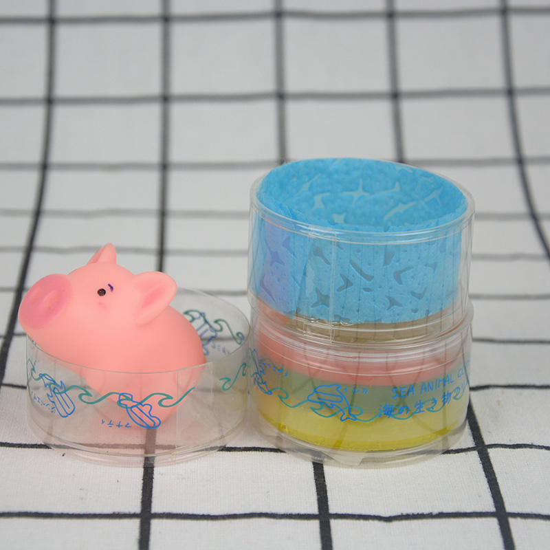 Small curling edge plastic tube packaging for clips