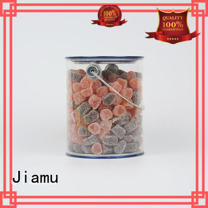 Wholesale clips clear plastic tube packaging clear Jiamu Brand