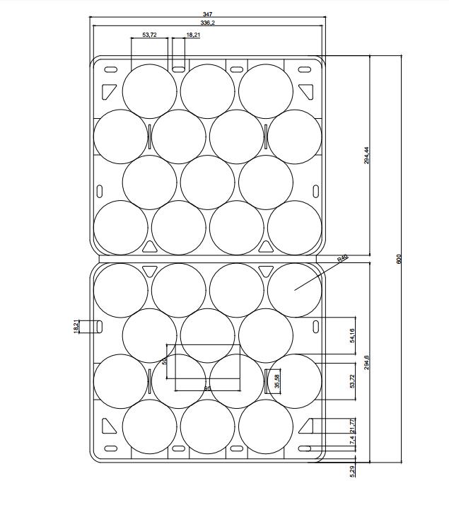 Jiamu-New Custom Design Fresh Apple Clamshell | Plastic Tube Packaging-5