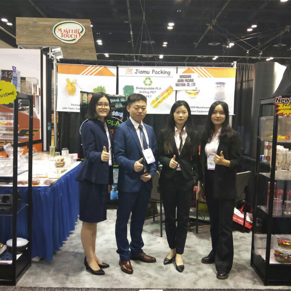 October 18-20, 2018 PMA Fresh Summit EXPO, JM Packing in Orlando Florida USA-clamshell blister packaging, plastic blister packaging, blister pack packaging-Jiamu