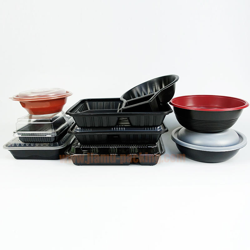 Jiamu Packing Disposable Plastic Meal Box
